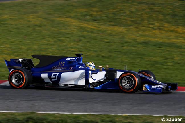 Marcus Ericsson - Sauber - Test 1 Barcelona - Pretemporada 2017 - Día 1