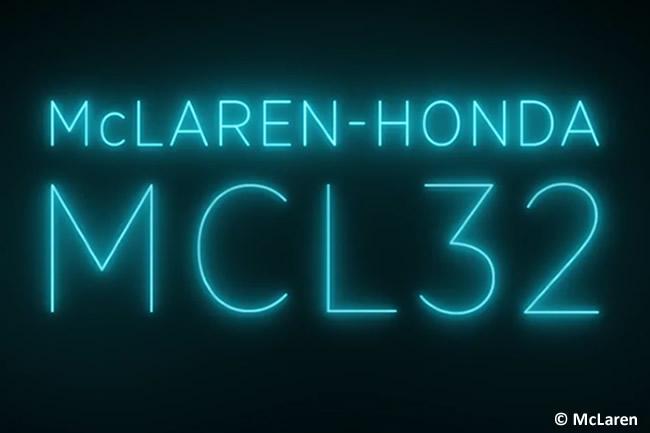 McLaren - Cambio nombre monoplaza - MP4 a MCL - MCL32