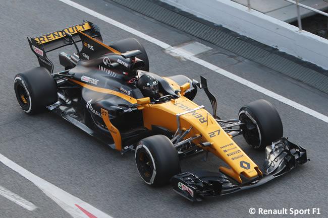 Nico Hulkenberg - Renault Sport - Test 1 Barcelona - Pretemporada 2017 - Día 1
