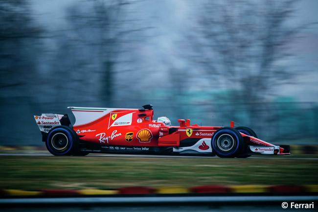 Scuderia Ferrari - SF70H - Pista