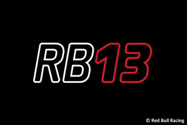 Red Bull Racing - Anuncio Fecha Presentación - RB13