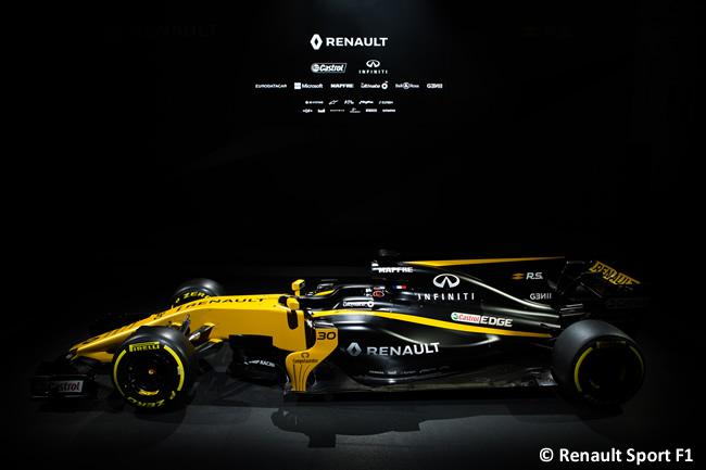 Renault Sport F1 - Presentación RS17 - 2017