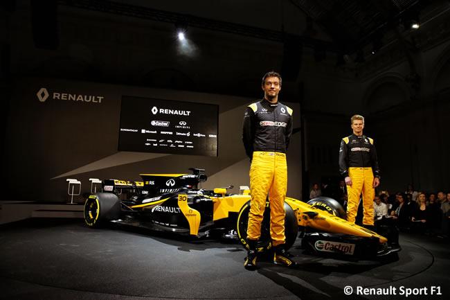 Renault Sport F1 - Presentación RS17 - 2017 -Nico Hulkenberg - Jolyon Palmer