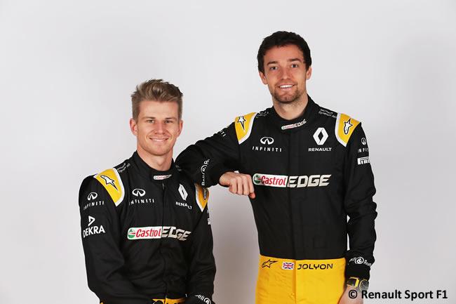 Renault Sport F1 - Nico Hulkenberg - Jolyon Palmer