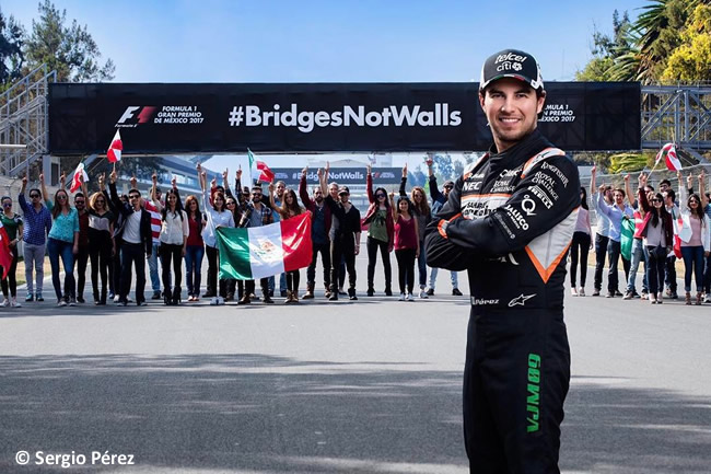 Sergio Pérez - #BridgesNotWalls