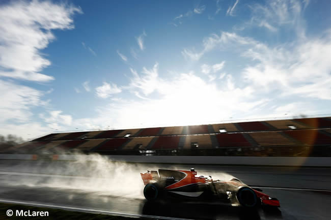 Stoffel Vandoorne - McLaren - Test 1 Barcelona - Pretemporada 2017 - Día 4