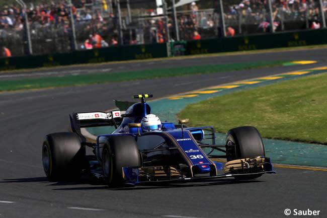 Antonio Giovinazzi - Sauber - Australia 2017 - Melbourne - Carrera
