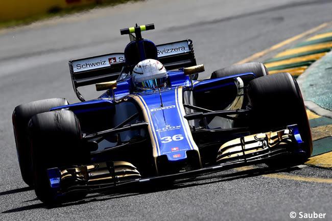 Antonio Giovinazzi - Sauber - GP Australia - Calificación 2017