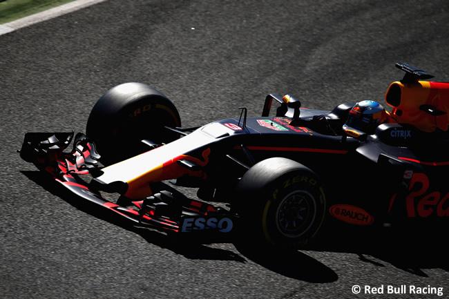 Daniel Ricciardo - Red Bull Racing - Test 1 Barcelona - Pretemporada 2017 - Día 3