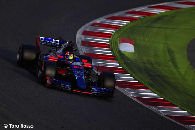 Daniil Kvyat - Toro Rosso - Test 2 Barcelona - Pretemporada 2017