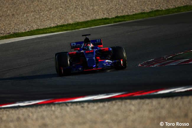 Daniil Kvyat - Toro Rosso - Test 2 Barcelona - Pretemporada 2017 - Día 3