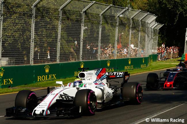 Felipe Massa - Williams - Australia 2017 - Melbourne - Carrera