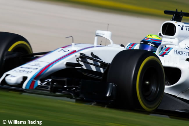 Felipe Massa - Williams - Test 2 Barcelona - Pretemporada 2017 - Día 3