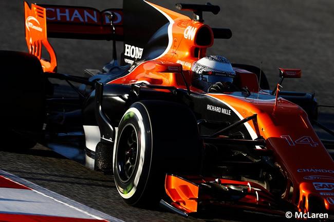 Fernando Alonso - McLaren - Honda - Test 1 Barcelona - Pretemporada 2017 - Día 3