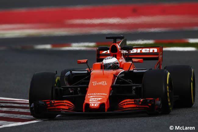 Fernando Alonso- McLaren - Test 2 Barcelona - Pretemporada 2017 - Día 2
