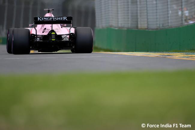 Force India - GP Australia - Calificación 2017
