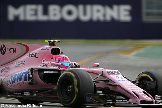 Force India - Australia 2017 - Melbourne - Viernes