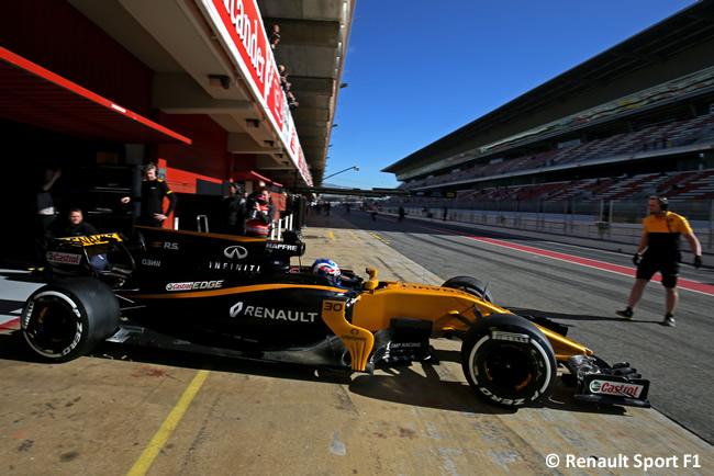 Jolyon Palmer - Renault - Test 2 Barcelona - Pretemporada 2017