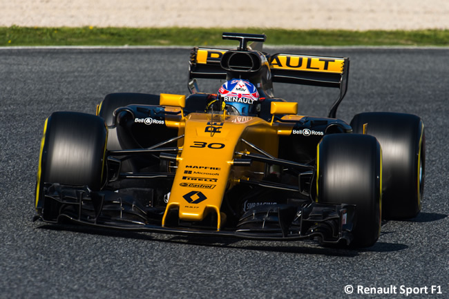 Jolyon Palmer - Renault - Test 2 Barcelona - Pretemporada 2017 - Día 3