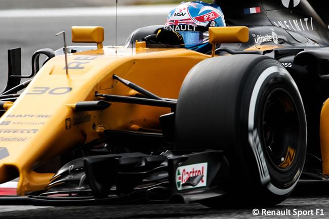 Jolyon Palmer - Renault - Test 1 Barcelona - Pretemporada 2017 - Día 2
