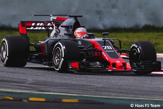 Kevin Magnussen - Haas F1 - Test 1 Barcelona - Pretemporada 2017 - Día 2