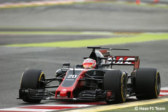 Kevin Magnussen - Haas - Test 2 Barcelona - Pretemporada 2017