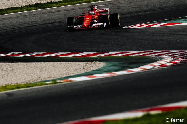 Kimi Raikkonen - Scuderia Ferrari - Test 1 Barcelona - Pretemporada 2017 - Día 2