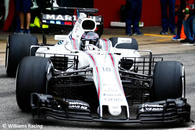 Lance Stroll - Williams - Test 1 Barcelona - Pretemporada 2017 - Día 2
