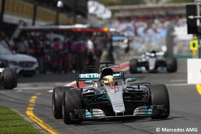 Lewis Hamilton - Mercedes AMG - GP Australia - Calificación 2017