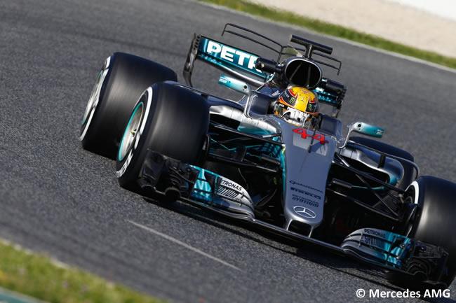 Lewis Hamilton - Mercedes AMG - Test 2 Barcelona - Pretemporada 2017 - Día 3