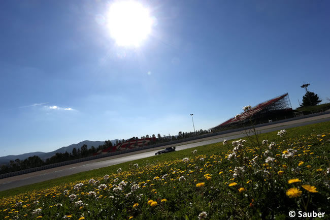 Marcus Ericsson - Sauber - Test 1 Barcelona - Pretemporada 2017 - Día 3
