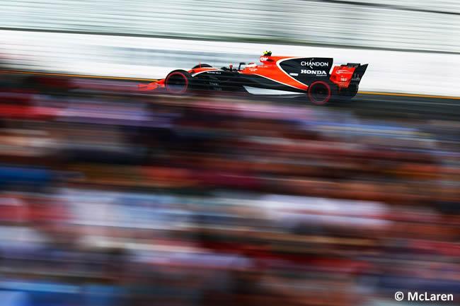 McLaren - GP Australia - Calificación 2017
