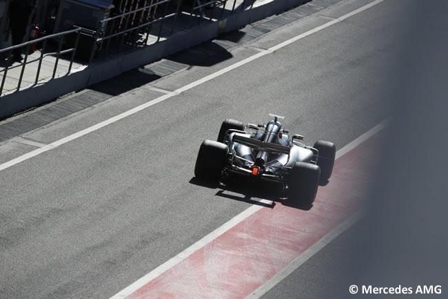 Mercedes AMG - Test 1 Barcelona - Pretemporada 2017 - Día 3