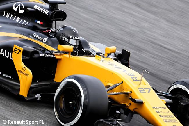 Nico Hulkenberg - Renault - Test 2 Barcelona - Pretemporada 2017 - Día 2