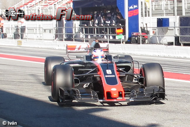 Romain Grosjean - Haas - 2017 - www.noticias-f1.com