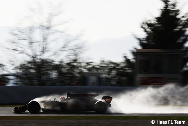 Romain Grosjean - Haas F1 - Test 1 Barcelona - Pretemporada 2017 - Día 4