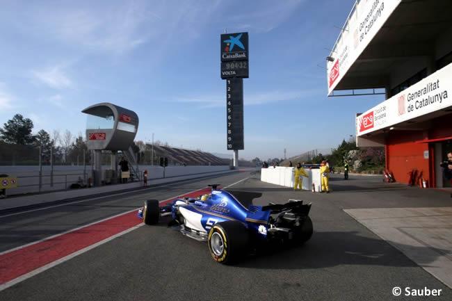 Sauber - Test 2 Barcelona - Pretemporada 2017 - Día 3