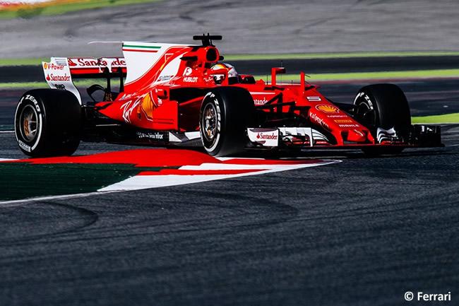 Sebastian Vettel - Scuderia Ferrari - Test 1 Barcelona - Pretemporada 2017 - Día 3