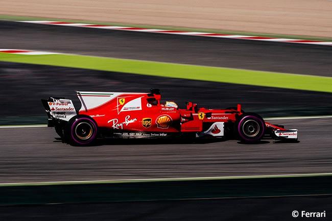 Sebastian Vettel - Scuderia Ferrari - Test 2 Barcelona - Pretemporada 2017 - Día 3