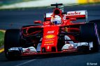 Sebastian Vettel - Scuderia Ferrari - GP Australia - Calificación 2017