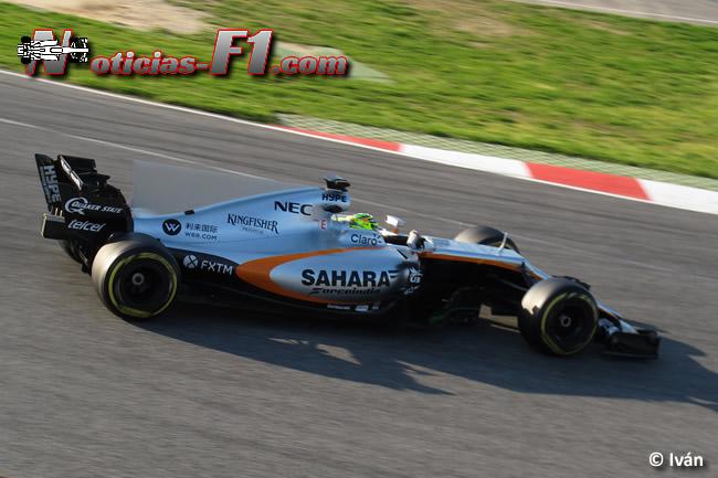 Sergio Pérez - Force India- 2017 - www.noticias-f1.com