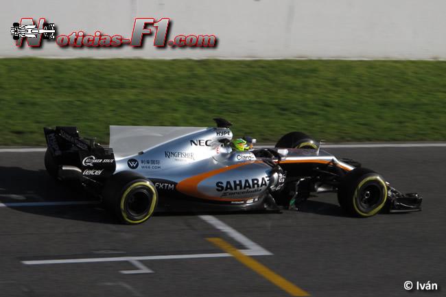 Sergio Pérez - Force India - 2017 - www.noticias-f1.com