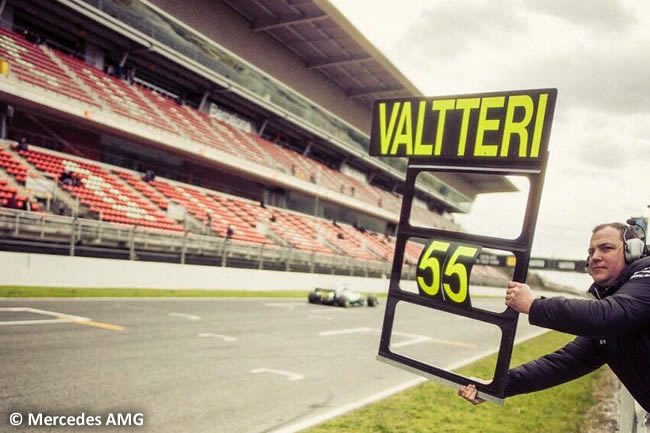 Valtteri Bottas - Mercedes AMG - Test 1 Barcelona - Pretemporada 2017 - Día 4