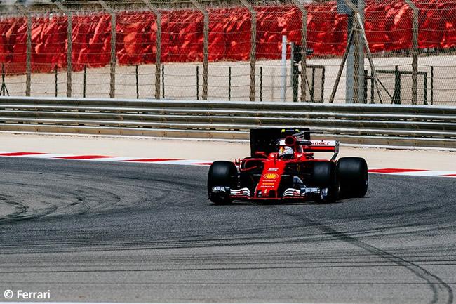 Scuderia Ferrari - Test Bahréin temporada 2017 - Día 1