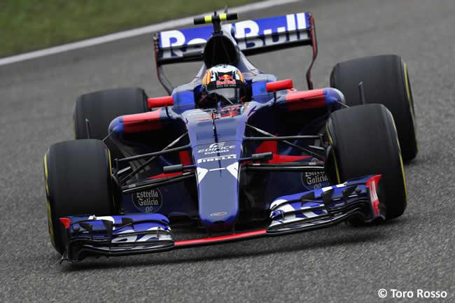 Carlos Sainz - Scuderia Toro Rosso - Gran Premio China 2017 - Carrera - Domingo