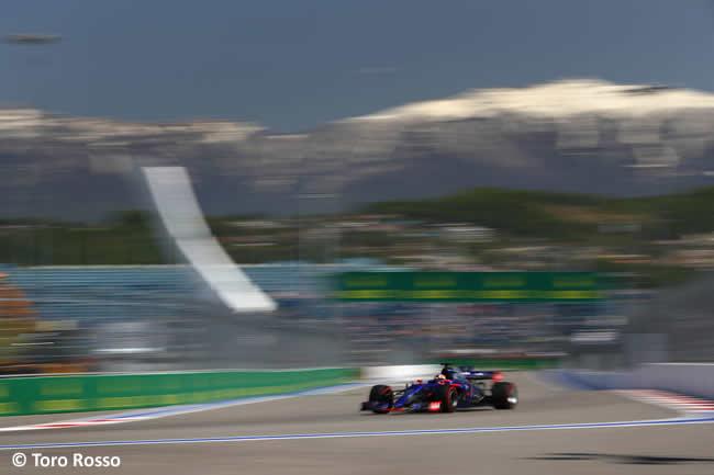Carlos Sainz - Toro Rosso - GP Rusia 2017 - Calificación - Clasificación