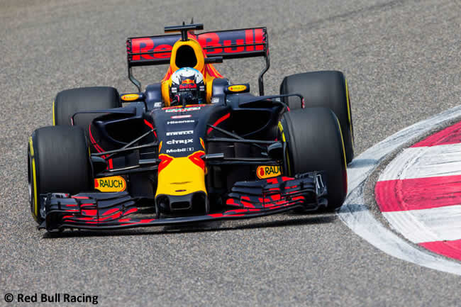 Daniel Ricciardo - Red Bull Racing - Gran Premio China 2017 - Calificación - Clasificación