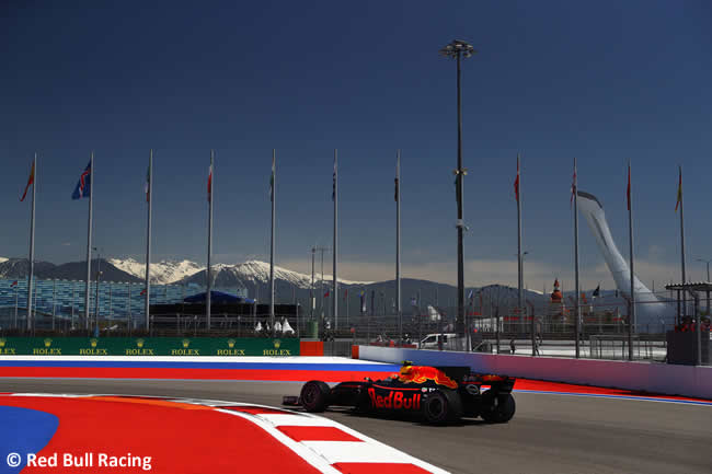 Daniel Ricciardo - Red Bull Racing - GP Rusia 2017 - Calificación - Clasificación