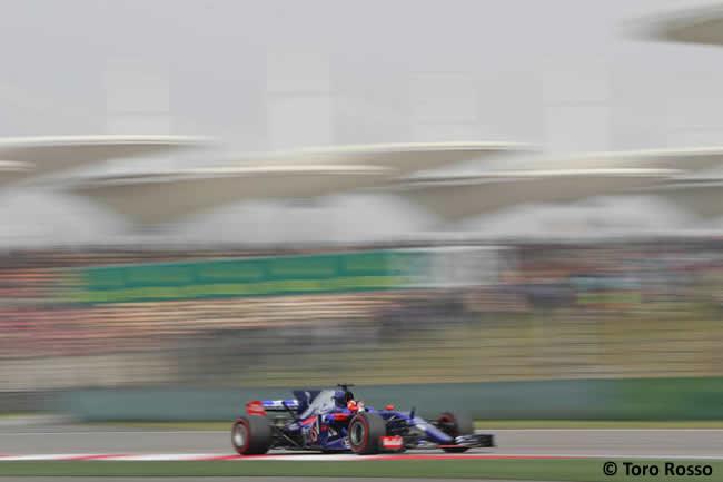 Daniil Kvyat - Toro Rosso - Gran Premio China 2017 - Calificación - Clasificación