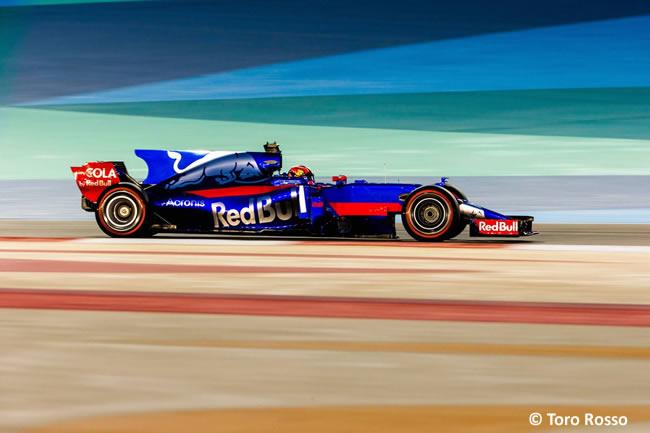 Daniil Kvyat - Toro Rosso - Test - Temporada 2017 - Bahréin - Día 2